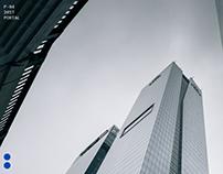 Debt Market Information Portal Website Design