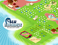 Blu Paradise - Acquapark Map
