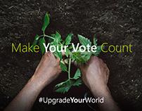 #UpgradeYourWorld - Social