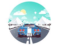Corvette road trip