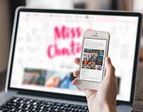 Tema Responsivo Miss Chatice - WordPress
