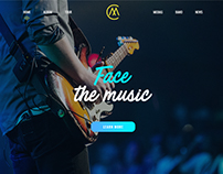 M-Music One Page
