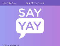 Say Yay Voter Information App