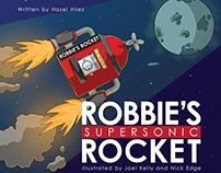 Robbie's Rocket - Children's Book Illustration