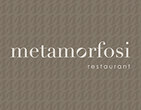 Metamorfosi restaurant Brand Identity