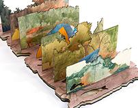 Redbluff Landscape Model