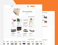 Renting Stuff Web Design - Rent any type of stuff