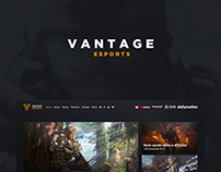 Team Vantage Website