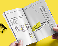 Type promotion brochure