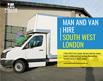 Man And Van Hire South West London