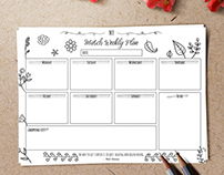 FREE CONTENT - March Weekly Planner