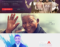 PANA TV, Web - Mobile Banners