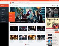 mFilm - Responsive Web Video, TV, Film, MTV, ...
