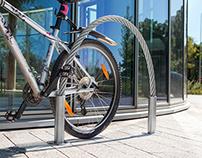 Hawser bike stand