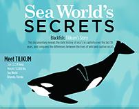 Infographic Sea World's Secrets