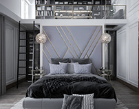 Master Bedroom in a contemporary Style
