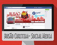 Busão Curitiba - Social Media