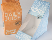 Daily Foods Packaging Design
