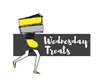 Wednesday Treats Logo Design