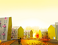 SocialHousingOvca, architectural competition 2011