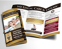 Dental Direct Mail Trifold