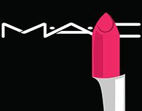 M.A.C Lipstick Ad