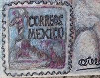 Mail art - Olas en mi país
