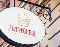 Hambeer - Fast food / Brand identity
