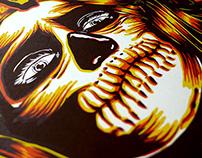 Yellowstock Festival - silkscreen poster