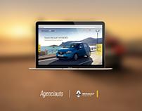 Propuesta Sitio Web Agenciauto / Renault