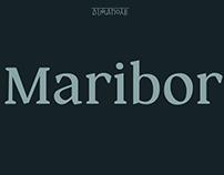 шрифт Марибор | Maribor font