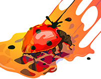 CRAZYBUGS / vector illustration