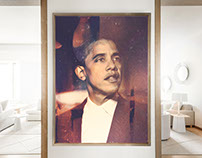 Obama Oil Paintings