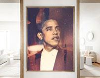 Obama Oil Paintings