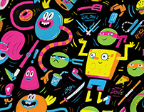 Nickelodeon Patterns