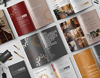 Branding Style Template for InDesign By:Khara Plicanic