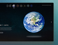 Earth Landingpage