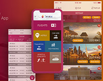 Travel Base Mobile App Design