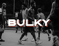 BULKY. Display typeface, 2 font styles.