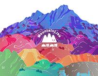 山模山樣網站 - 除了高度,你能夠用幾種方式來描述一座山的模樣呢?