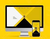 BAXA - Portfolio Website