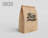 Paper Bag PSD Mockups(FREE PSD)