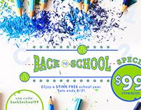 StinkBOSS Back 2 School Sale