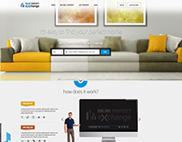 Real Estate - Web Application Home Page