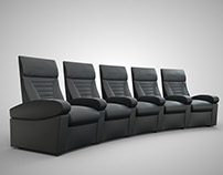 Home Cinema Seatings - Ineva Design