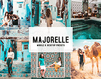 Majorelle Mobile & Desktop Lightroom Presets