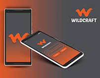 Wildcraft - App mockup design