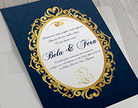 """Projeto Convite """"A Bela e a Fera"""""""