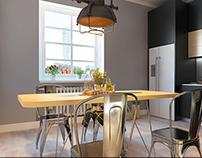 Skandinavian style kitchen