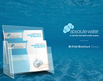 Absolute Water- Brochure Design